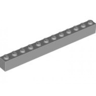 LEGO 1 x 12 Brick Light Bluish Grey