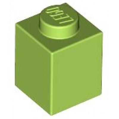 LEGO 1 x 1 Brick Lime