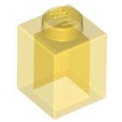 LEGO 1 x 1 Brick Transparent Yellow