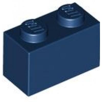 LEGO 1 x 2 Brick Dark Blue