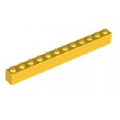 LEGO 1 x 12 Brick Yellow