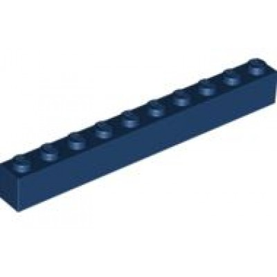 LEGO 1 x 10 Brick Dark Blue