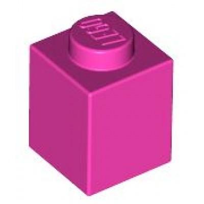 LEGO 1 x 1 Brick Dark Pink