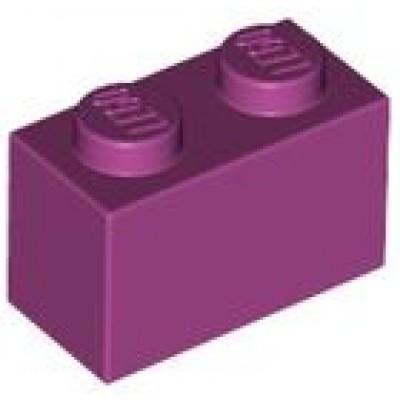 LEGO 1 x 2 Brick Magenta