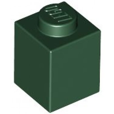 LEGO 1 x 1 Brick Dark Green