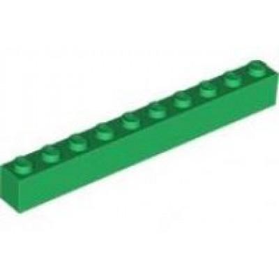 LEGO 1 x 10 Brick Green
