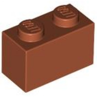 LEGO 1 x 2 Brick Dark Orange