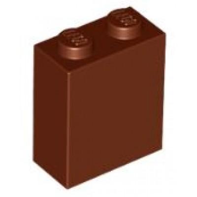 LEGO 1 x 2 x 2 Brick Reddish Brown