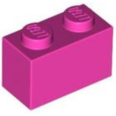 LEGO 1 x 2 Brick Dark Pink