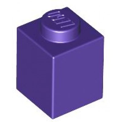 LEGO 1 x 1 Brick Dark Purple