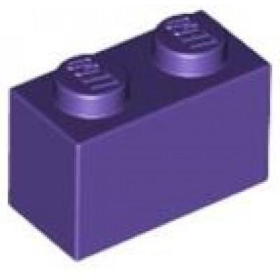 LEGO 1 x 2 Brick Dark Purple