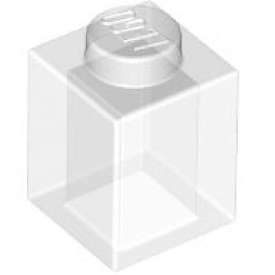 LEGO 1 x 1 Brick Transparent Clear