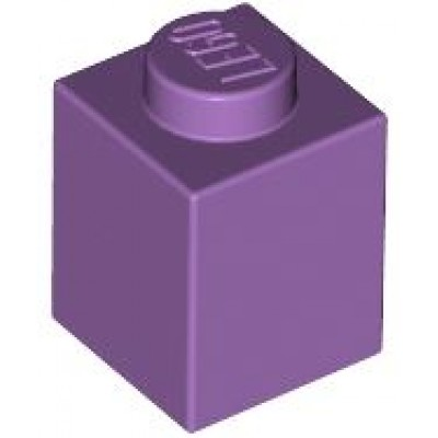 LEGO 1 x 1 Brick Medium Lavender