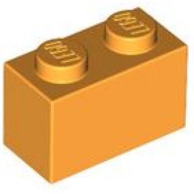 LEGO 1 x 2 Brick Bright Light Orange