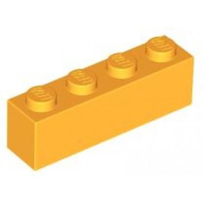 LEGO 1 x 4 Brick Bright Light Orange