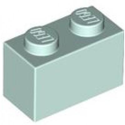 LEGO 1 x 2 Brick Light Aqua