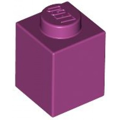 LEGO 1 x 1 Brick Magenta