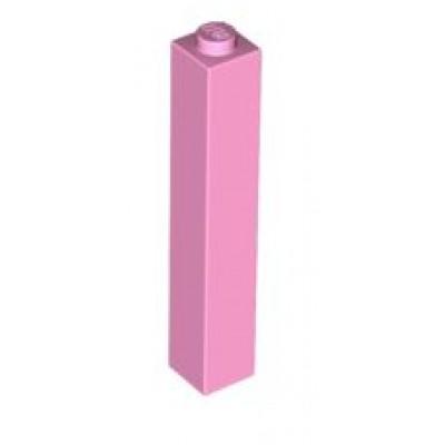 LEGO 1 x 1 x 5 Brick Bright Pink