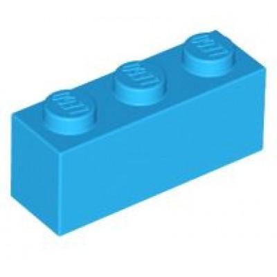 LEGO 1 x 3 Brick Dark Azure