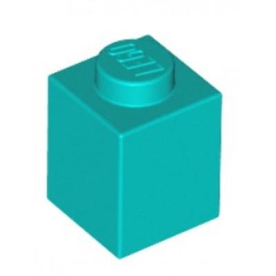 LEGO 1 x 1 Brick Dark Turquoise