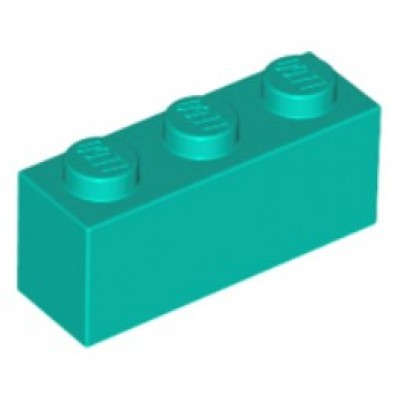 LEGO 1 x 3 Brick Dark Turquoise