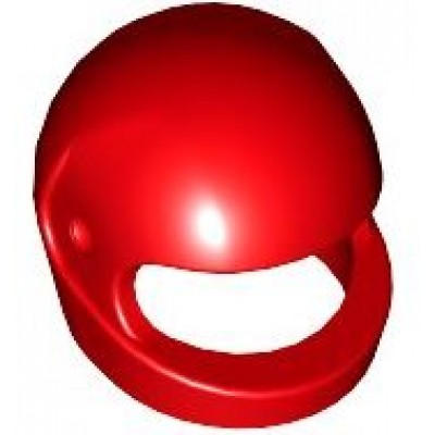 LEGO Minifigure Helmet - Red