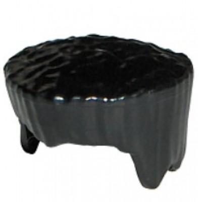 LEGO Minifigure Hair Flat Top - Black
