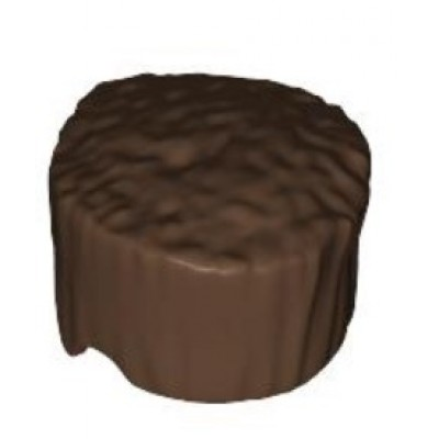 LEGO Minifigure Hair Flat Top  - Brown