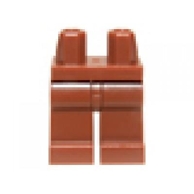 LEGO Minifigure Legs - Reddish Brown