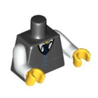LEGO Minifigure Torso - Town Vest and Tie