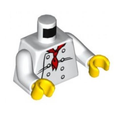 LEGO Minifgure Torso - Chef
