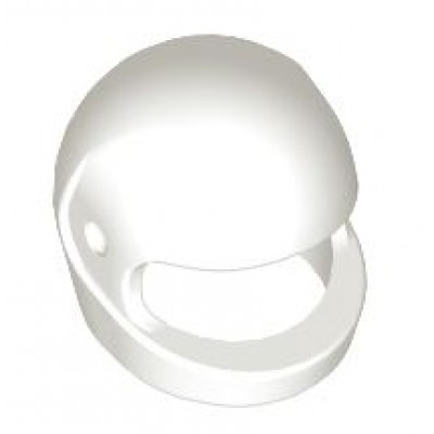 LEGO Minifigure Helmet - White