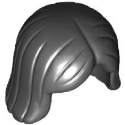 LEGO Minifigure Hair Straight Bob- Black