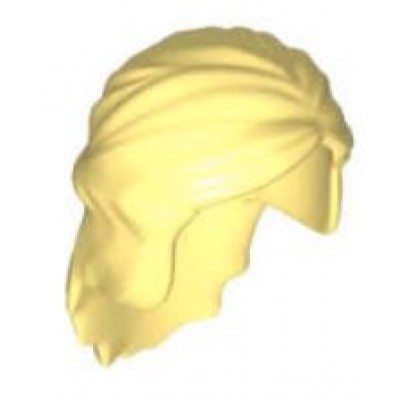 LEGO Minifigure Hair Female Princess - Bright Light Yellow