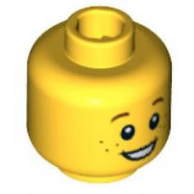 LEGO Minifigure Head - Freckles