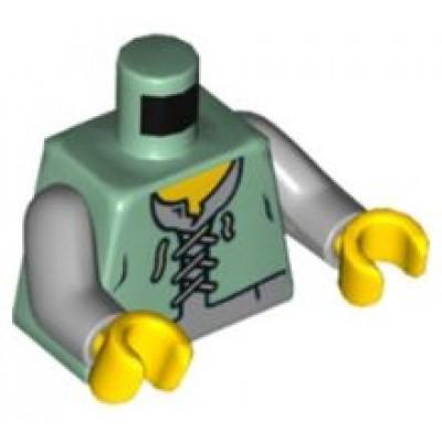 LEGO Minifigure Torso Castle Kingdoms Peasant Vest