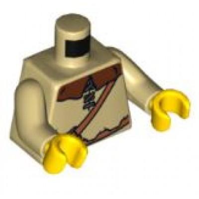 LEGO Minifigure Torso Castle Kingdoms Peasant Shirt