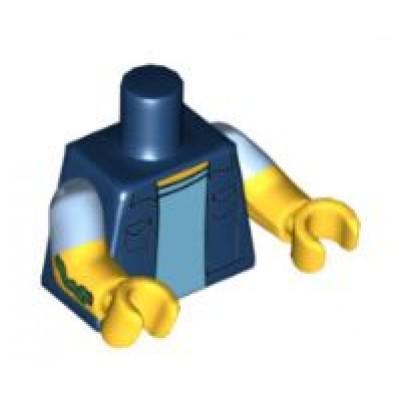 LEGO Minifigure Torso - Simpsons Vest
