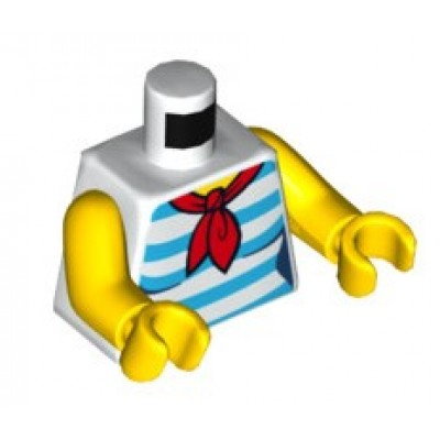 LEGO Minifgure Torso - Female Shirt