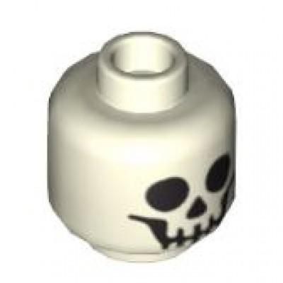 LEGO Minifigure Head - Skull Standard