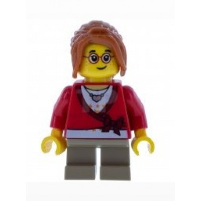 LEGO Minifigure - Sweater Cropped with Bow