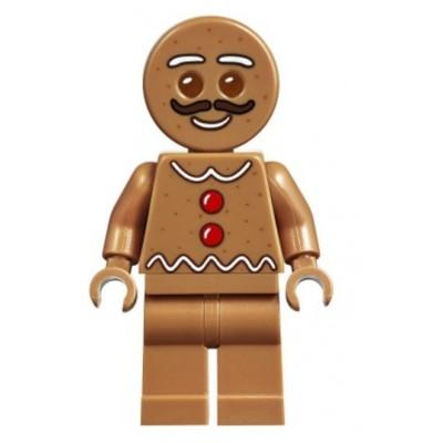 LEGO Gingerbread Man - Moustache