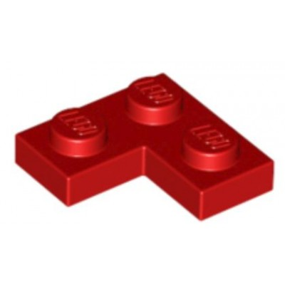LEGO 2 x 2 Plate Corner Red