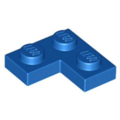 LEGO 2 x 2 Plate Corner Blue