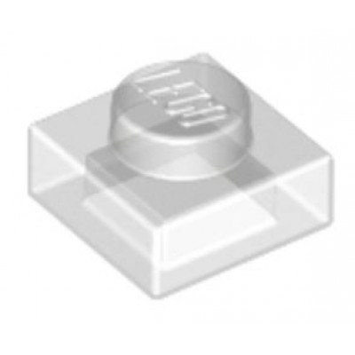 LEGO 1 x 1 Plate Transparent Clear
