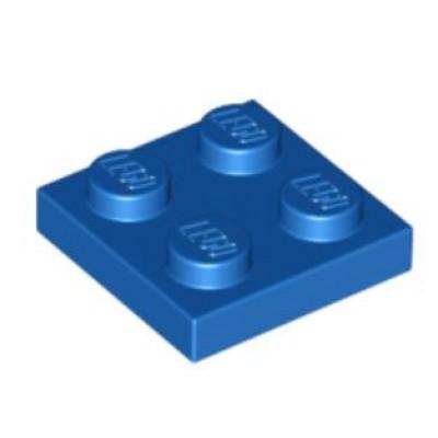 LEGO 2 x 2 Plate Blue