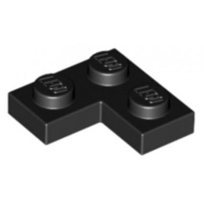 LEGO 2 x 2 Plate Corner Black
