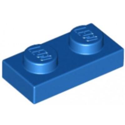 LEGO 1 x 2 Plate Blue