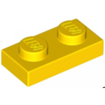 LEGO 1 x 2 Plate Yellow