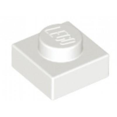 LEGO 1 x 1 Plate White